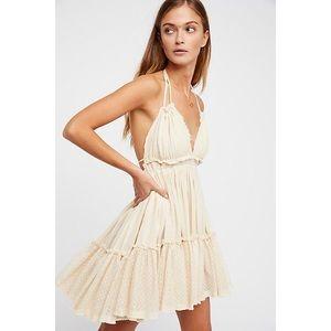 Free People Endless Summer Mini Halter Dress
